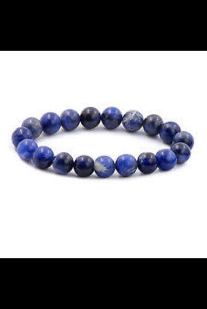 Tumbled Stone Bracelet | Sodalite | 8mm