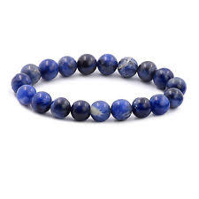 Tumbled Stone Bracelet | Sodalite | 8mm-1