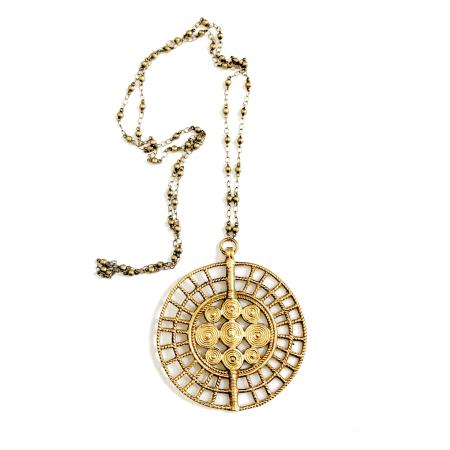 Necklace | Sundra Medallion-2