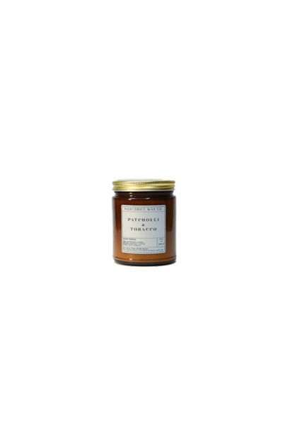 Soy Candle | Patchouli + Tobacco