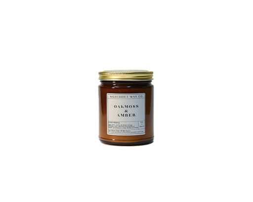 Soy Candle   Oakmoss + Amber-1