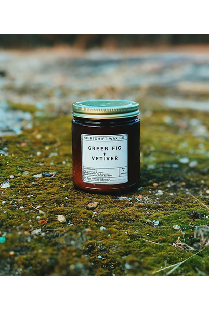 Soy Candle | Green Fig + Vetiver