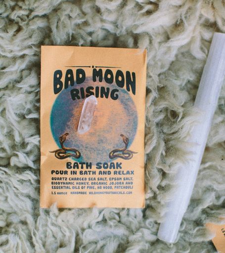 Bath Salt Soak | Bad Moon Rising-1