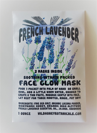 Face Glow Mask | French Lavender-2