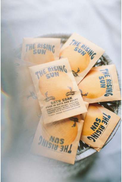 Bath Salt Soak | The Rising Sun