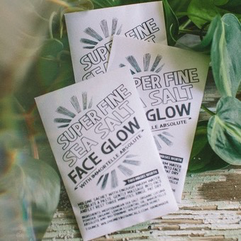Face Glow Mask | Super Fine Sea Salt-2