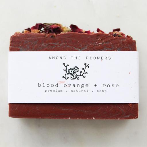 Cold Process Soap | Blood Orange & Rose-2