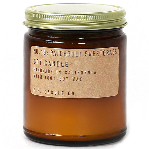 Soy Candle | Patchouli Sweetgrass-2