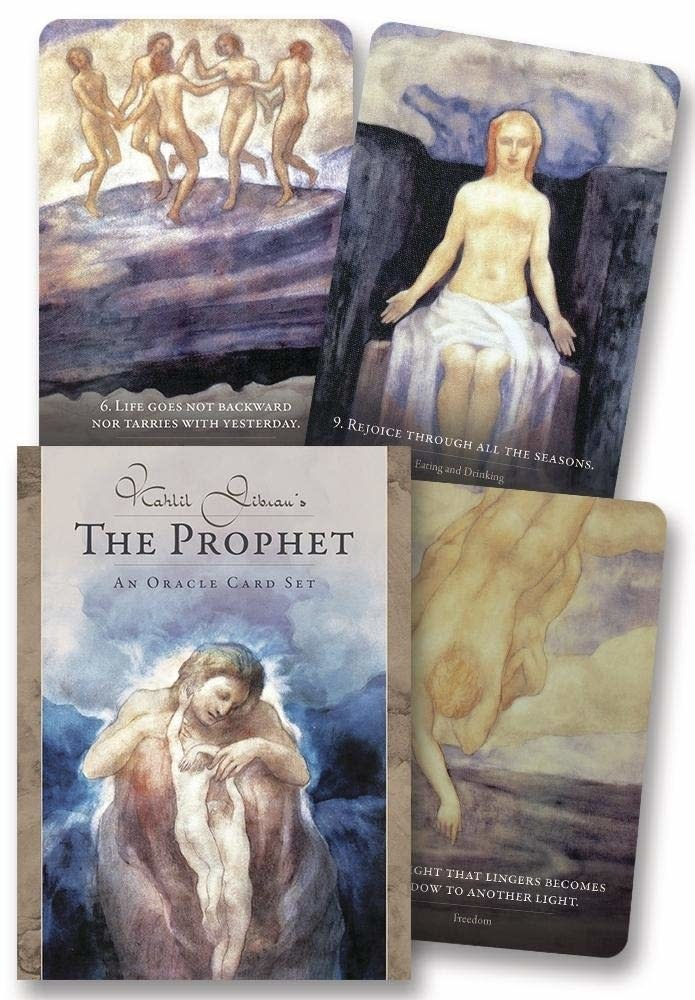 Kahlil Gibran's The Prophet Oracle Deck-1