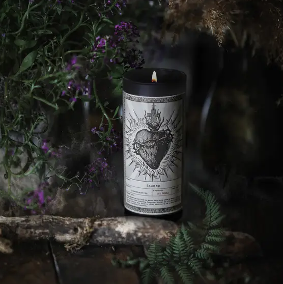 Noir Ritual Candle | Sacred-1