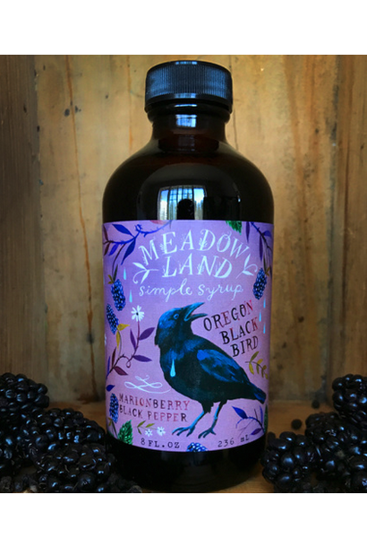 Oregon Blackbird | Marionberry & Black Pepper Syrup