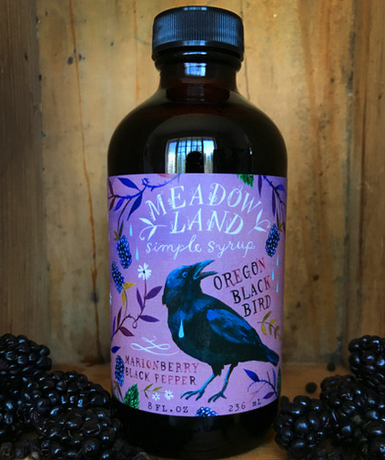 Oregon Blackbird | Marionberry & Black Pepper Syrup-1