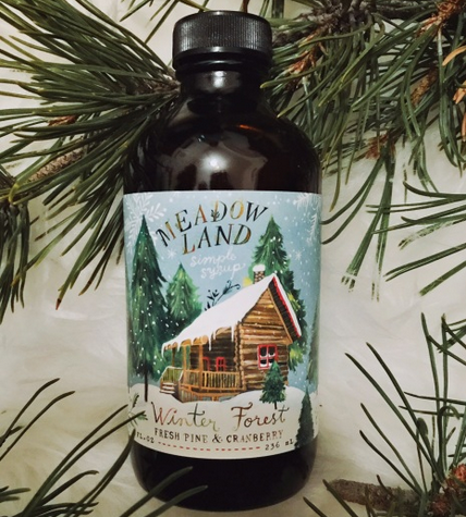 Winter Forest |Pine Needles, Cranberry & Spice Syrup-1