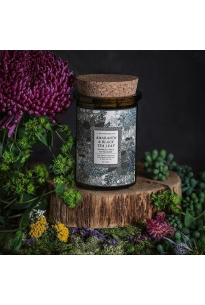 Botanica Candle | Amaranth + Black Tea Leaf