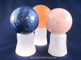 Selenite Sphere Stand-1