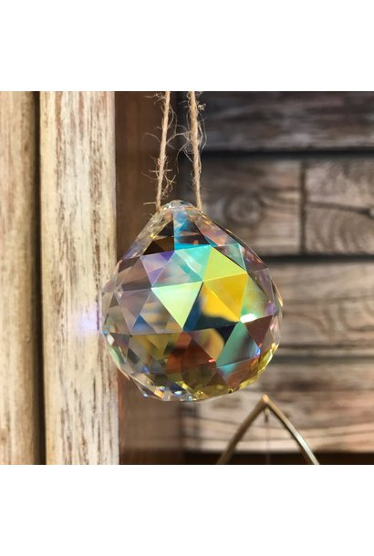 Rainbow Maker | Prism Crystal Ball | Large