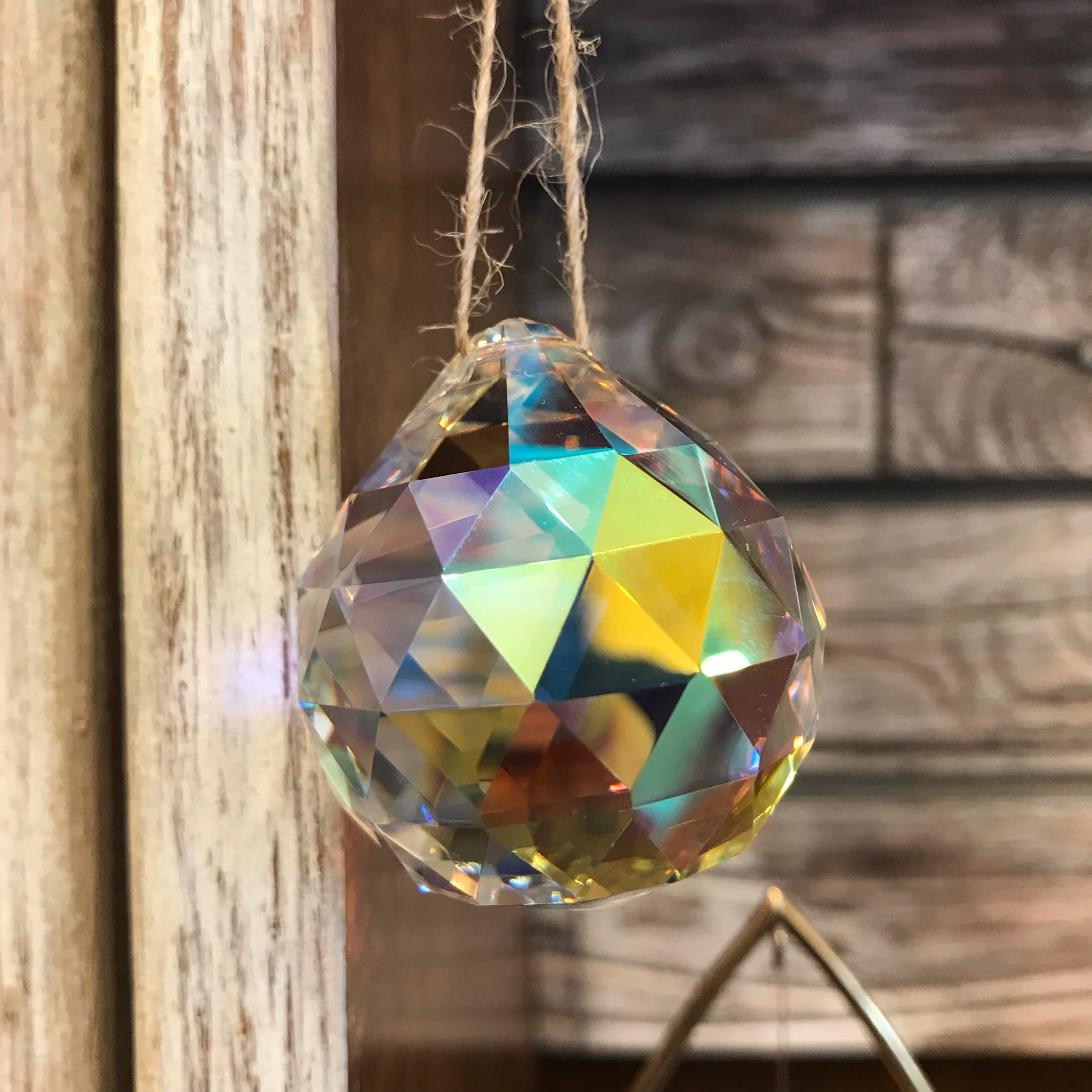 Rainbow Maker | Prism Crystal Ball | Large-1
