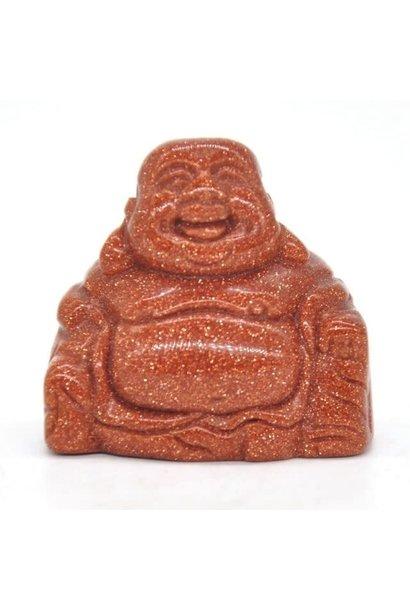 Buddha Figurine   Goldstone