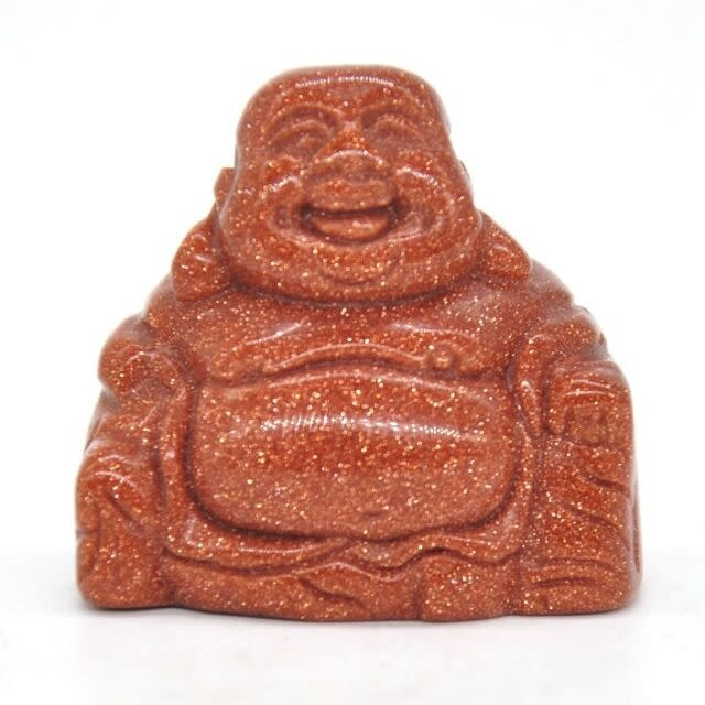 Buddha Figurine   Goldstone-1