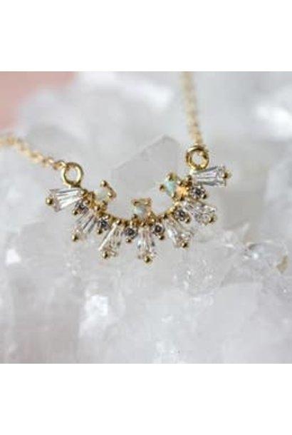 Necklace   Lana Opal Baguette Necklace