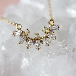 Necklace   Lana Opal Baguette Necklace-1