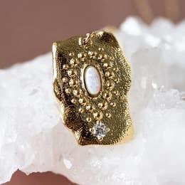 Necklace | Goddess Opal Necklace-1