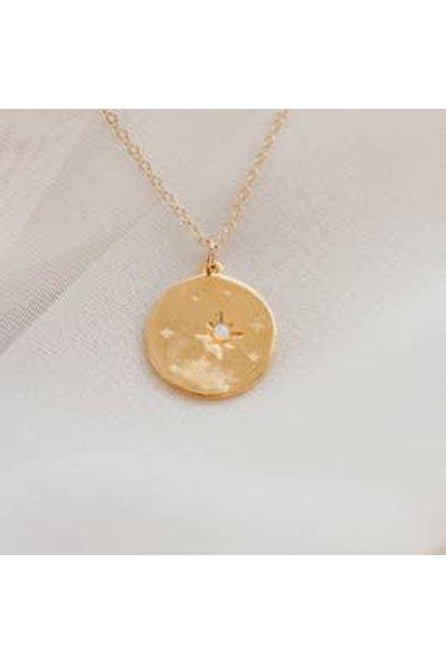 Necklace | Starry Night Opal Necklace