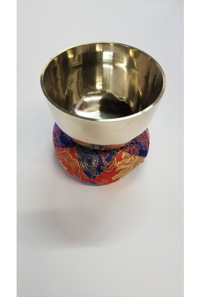 Singing Bowl | Plain Light Gold | X-Small