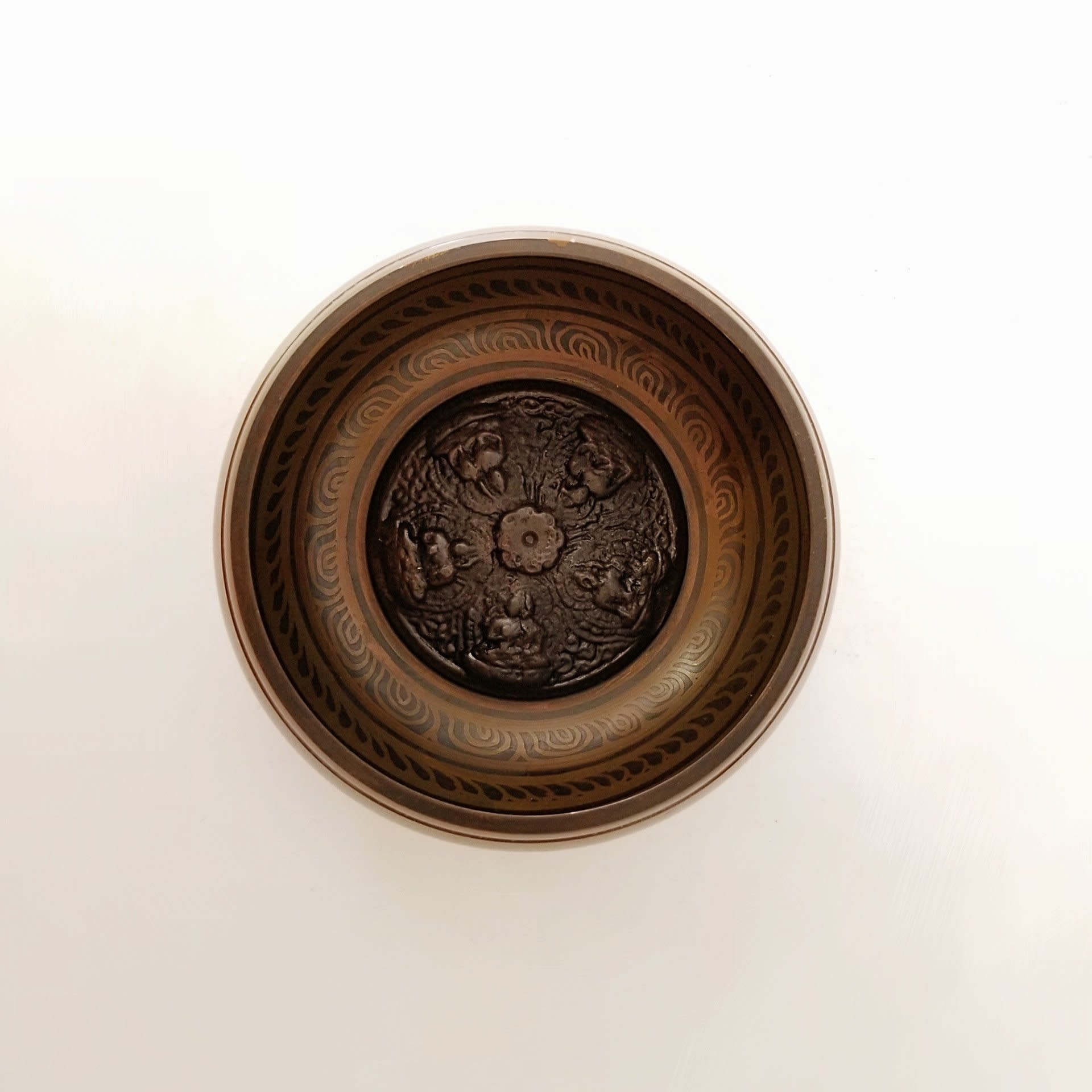 Singing Bowl   Buddha Carvings-1