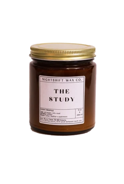 Soy Candle   The Study