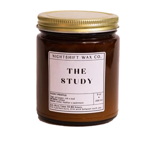 Soy Candle   The Study-1