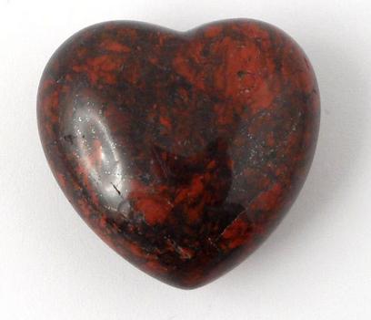 Crystal Heart | Brecciated Jasper-1