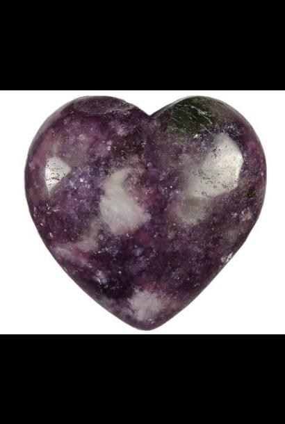 Crystal Heart | Lepidolite