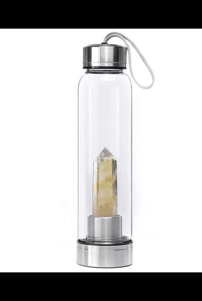 Crystal Water Bottle | Citrine
