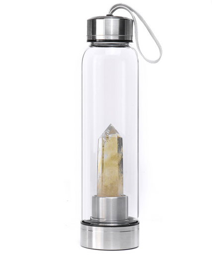 Crystal Water Bottle | Citrine-1