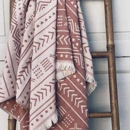 Turkish Towel | Rust-1
