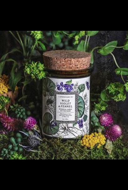 Botanica Candle | Wild Violet & Fennel