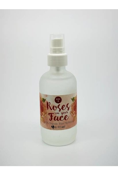 Rose Hydrosol Face Spray