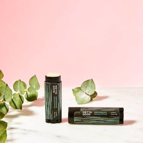 Metta Good Lip Balm | Peppermint Eucalyptus-1