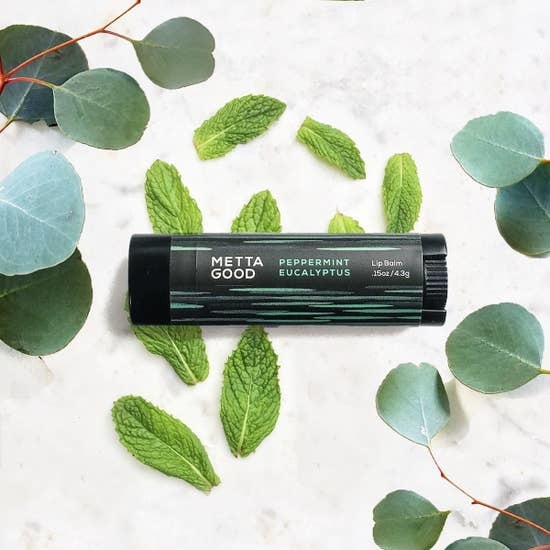 Metta Good Lip Balm | Peppermint Eucalyptus-2