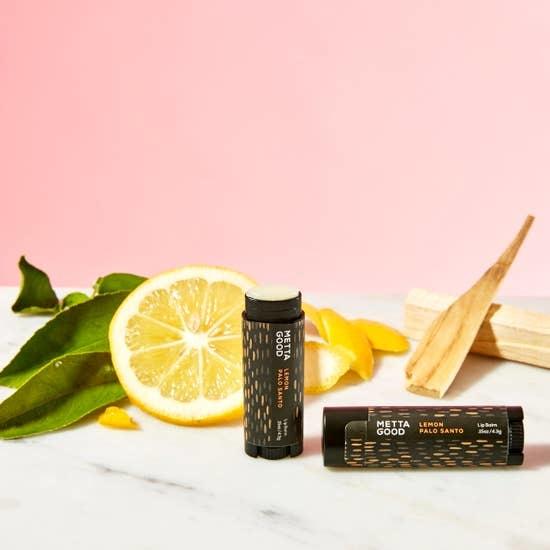 Metta Good Lip Balm | Palo Santo & Lemon-1