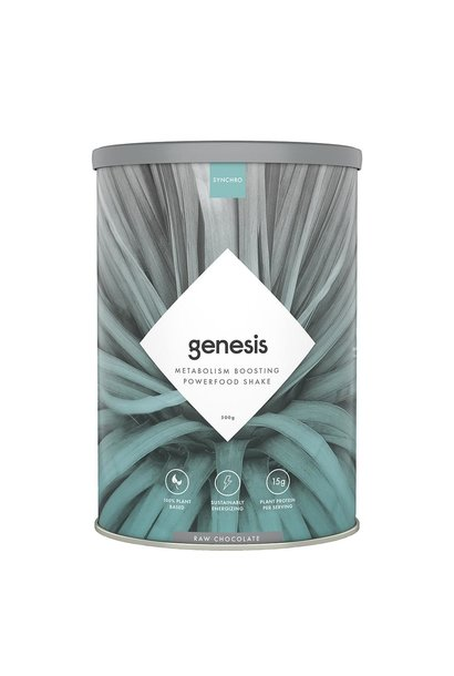 Synchro Genesis   Plant Based Protein Powder + Superfoods