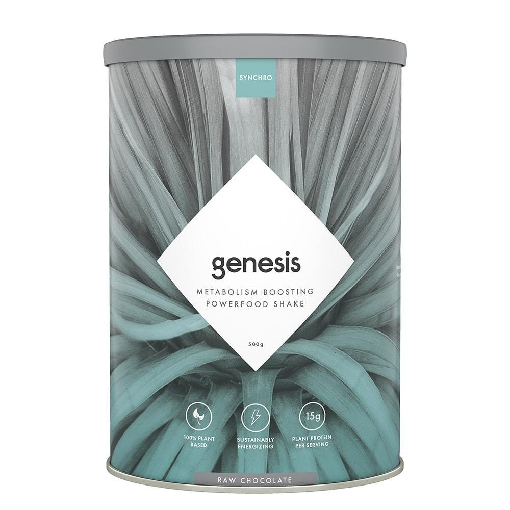 Synchro Genesis   Plant Based Protein Powder + Superfoods-1