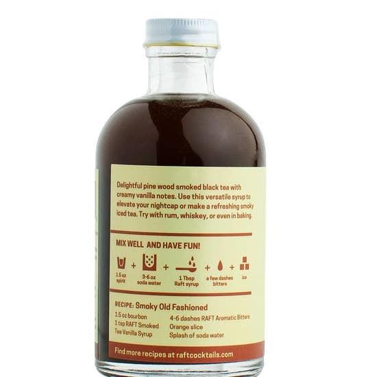 Smoked Tea Vanilla Syrup-2