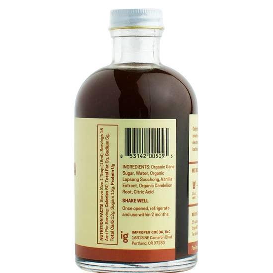 Smoked Tea Vanilla Syrup-3
