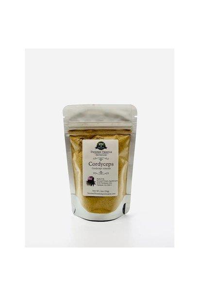 3994 - Cordyceps Mushroom Full Spectrum Extract - 56gm - 2oz - 1/4 tsp serving