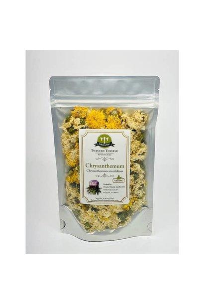 Chrysanthemum Full Flower - White & Yellow Mix - 28g