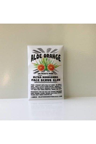 Face Scrub Glow | Aloe Orange
