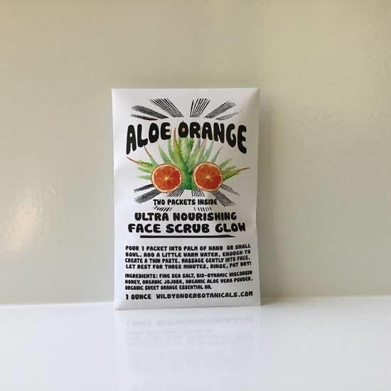 Face Scrub Glow | Aloe Orange-1