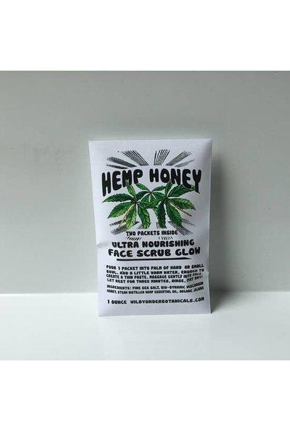 Face Scrub Glow | Hemp Honey